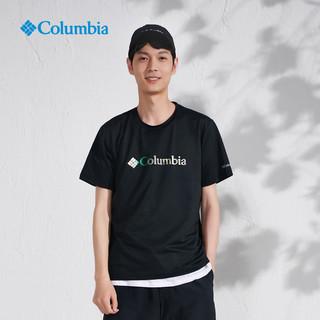 Columbia 哥伦比亚 户外21春夏新品男子吸湿降温速干运动T恤AE0543