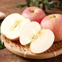 PLUS会员:shui guo shu cai 水果蔬菜 山西早富士苹果 中果  5斤装