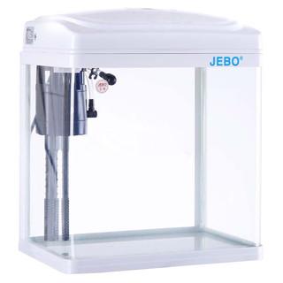 佳宝 JEBO 鱼缸水族箱免换水懒人鱼缸家用客厅办公室中小型玻璃过滤 QR223(235*160*275)