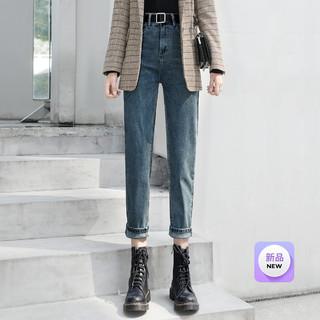 丝柏舍 2021冬装新款女士时尚修身简约小脚裤