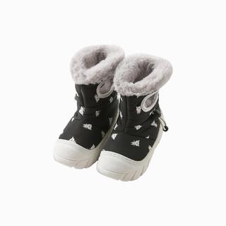 DAVE&BELLA 戴维贝拉 童装秋冬季新款男女童鞋子宝宝保暖棉鞋雪地靴