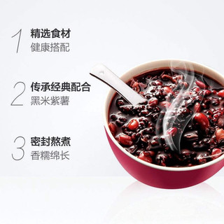 达利园 又一餐黑米紫薯红豆薏仁玉米莲子八宝粥360g*12罐早餐速食