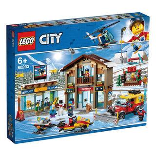 City 城市系列 60203 滑雪度假村