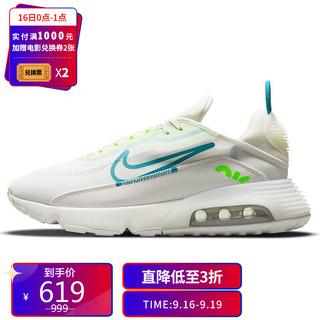 NIKE 耐克 男子 休闲鞋 经典 气垫 AIR MAX 2090 运动鞋 CZ1708-002浅银灰色41码