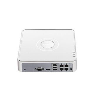 HIKVISION 海康威视 监控硬盘录像机4路8路NVR网络高清安防监控器主机刻录机家庭商用工厂可远程监控海康威视摄像头
