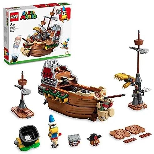 Prime会员 : LEGO 乐高 超级马力欧 71391 酷霸王的飞行战舰扩展关卡