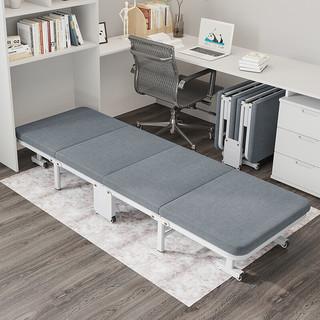 EASYREST 易瑞斯 折叠床四折床单人午睡小休陪护床办公室午休简易床家用成人行军床 升级免安装豪华版-宽60CM