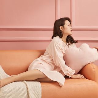 十月结晶 月子服纯棉哺乳睡衣家居服四季睡裙