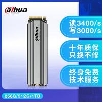 Dahua大华C900m2固态硬盘256g250g500g1t硬盘M.2固态NVME协议ssd笔记本台式 机pcie电脑240g512g 1tb2280 官方标配 c900 1TB plus