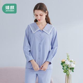 JOYNCLEON 婧麒 月子服夏薄款产后棉喂奶产妇哺乳家居服孕妇睡衣