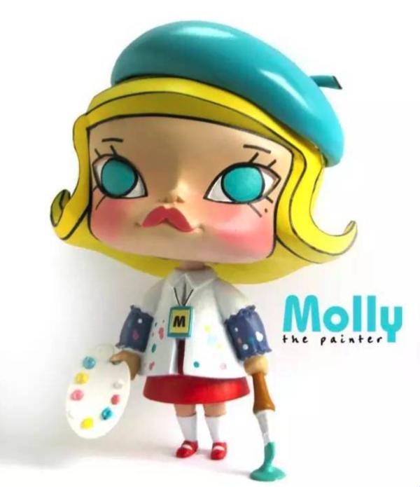 POP MART 泡泡玛特 MEGA珍藏系列 1000% SPACE MOLLY 果冻 手办摆件