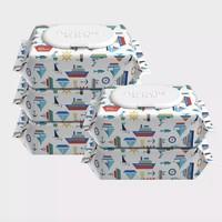 Anmous 安慕斯 海洋水婴儿手口湿巾 80抽*5包