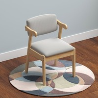 一米色彩 90ER 北欧实木书椅