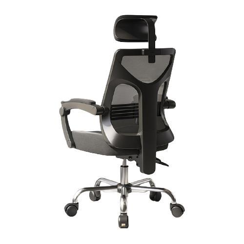HBADA 黑白调 HDNY164 人体工学椅 黑色无脚托