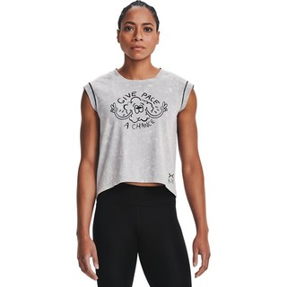 UNDER ARMOUR 安德玛 官方UA 女子跑步运动短袖T恤1361377