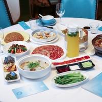 上海4店通用,精炙果木烤鸭融合菜4-5人餐