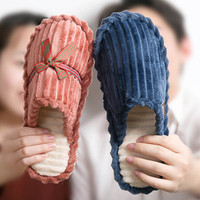 点篇 男士冬季棉拖鞋