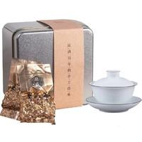 中广德盛 普洱熟茶散茶 10包共80g