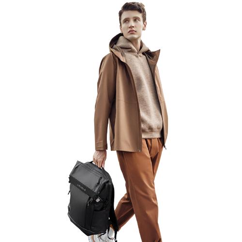 LEVEL8 地平线8号 双肩包男2021大容量轻旅行机能背包学生包防泼水电脑包