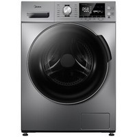 PLUS会员:Midea 美的 MG100A5-Y46B 滚筒洗衣机 10公斤