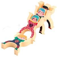 abay 儿童叠叠高积木玩具 8只装