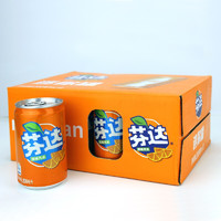 有券的上:Coca-Cola 可口可乐 橙味汽水 200ml*12罐