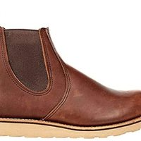 Red Wing Mens Classic Chelsea Suede Leather Boots