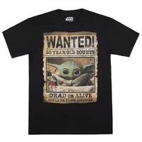 Disney 迪士尼 STAR WARS联名 男女款印花短袖T恤