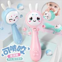 Yu Er Bao 育儿宝 婴儿玩具  拨浪鼓手摇铃  电池+螺丝刀