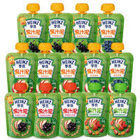 Heinz 亨氏 多口味混合装果汁泥120g*14袋