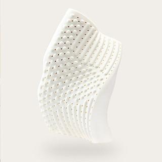 8H 小米8H蝶形肩颈养护天然乳胶枕泰国进口橡胶单人枕芯护颈椎枕头Z7