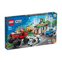 LEGO 乐高 城市系列 60245 巨轮越野车大劫案