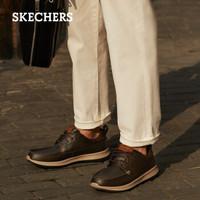 SKECHERS 斯凯奇 男士商务休闲鞋 65869
