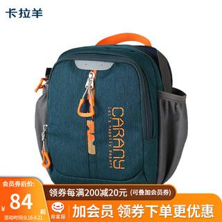 Carany 卡拉羊 单肩包男士休闲包运动包旅游包背包竖款斜挎包