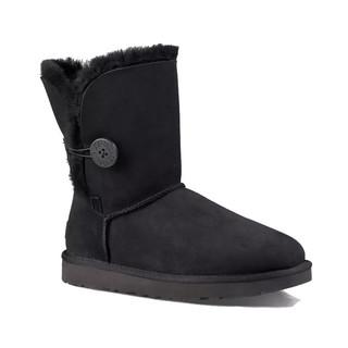 UGG Bailey Button ll 贝莉纽扣2.0中筒平跟女士保暖雪地靴女靴