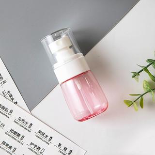 Etravel 易旅 酒精喷雾瓶旅行分装瓶小喷壶消毒洗发沐浴露旅行便携小瓶子 透粉30ML