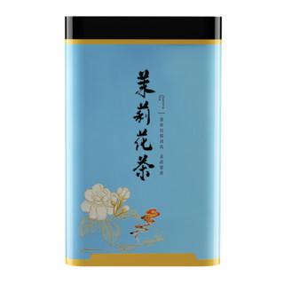 XIANGCHE 香彻 茉莉飘雪浓香型茉莉花茶 茶叶2021新茶飘雪花茶罐装200gQ 400g双罐(送礼袋)