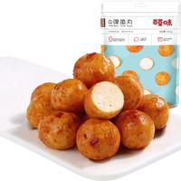 Be&Cheery 百草味 Q弹鱼丸108g(烧烤味、麻辣味)