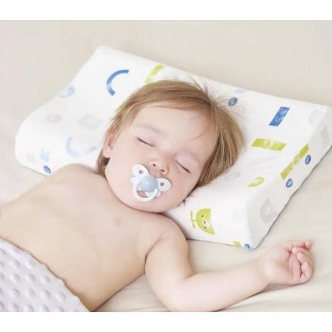 bebelove 婴儿透气抑菌乳胶枕  40*25*2cm