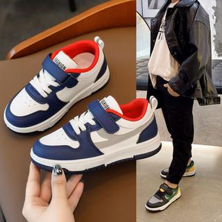 男童运动鞋2021新款儿童运动鞋中大童低帮板鞋防滑透气女童鞋子潮