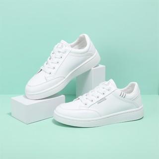 DAPHNE 达芙妮 2021新款小白鞋女鞋子女ins潮夏百搭运动休闲板鞋女