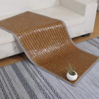 安其罗 麻将席沙发垫 碳化咖 50*100cm 经典款