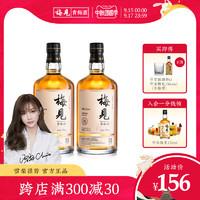 梅见青梅酒12度750ml*2瓶礼盒果酒微醺梅子酒