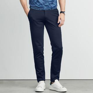 SEPTWOLVES 七匹狼 时尚潮流针织长裤男士休闲裤男裤子
