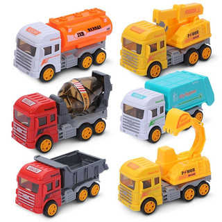 LIVING STONES 活石 工程运输车系列 城市工程队6只礼盒装