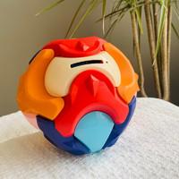 贝初众 儿童3D拼插积木存钱罐