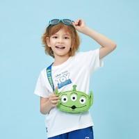LI-NING 李宁 儿童趣味三眼仔系列胸包