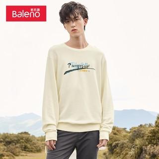 Baleno 班尼路 2020秋季新款圆领卫衣男运动长袖韩版休闲宽松套头衫