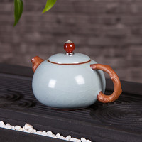 赞物 手工陶瓷茶壶