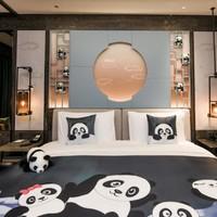 周末不涨!成都七一世外桃源酒店 桃源套房1晚&2晚+熊猫基地门票等权益套餐